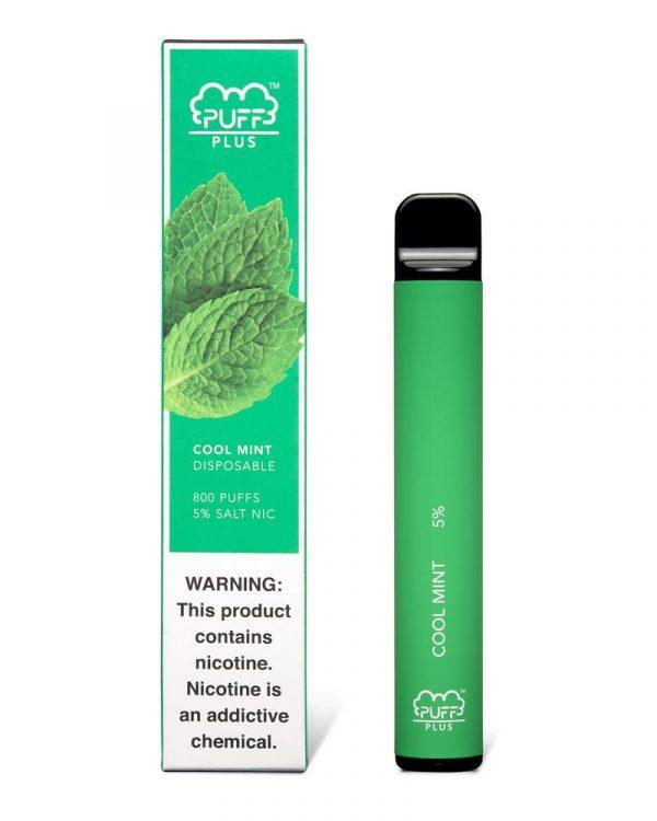 cool mint plus puff bar